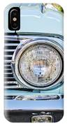1963 Ford Falcon Futura Convertible Headlight - Hood Ornament IPhone Case