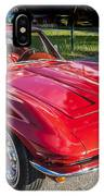 1964 Chevy Corvette Coupe  IPhone Case