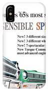 1965 - Rambler - Ambassador - American - Automobile Advertisement - Color IPhone Case