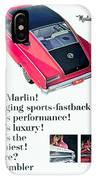 1965 - Rambler Marlin - Automobile Advertisement - Color IPhone Case