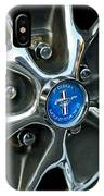 1965 Ford Mustang Wheel Rim IPhone Case