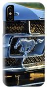 1965 Shelby Prototype Ford Mustang Grille Emblem IPhone Case