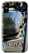 1965 Shelby Prototype Ford Mustang Paxton Engine IPhone Case