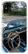 1966 Convertible Mustang On Tour In The Cotswolds IPhone Case