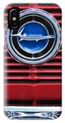 1966 Plymouth Barracuda - Cuda Grille Emblem IPhone Case