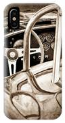 1966 Shelby 427 Cobra Steering Wheel Emblem IPhone Case