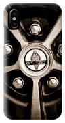 1966 Shelby Cobra Gt350 Wheel Rim Emblem IPhone Case
