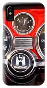 1966 Volkswagen Vw Karmann Ghia Steering Wheel IPhone Case