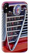 1967 Alfa Romeo Giulia Super Grille Emblem IPhone Case