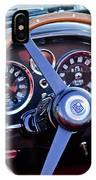 1967 Aston Martin Db6 Volante Steering Wheel 2 IPhone Case