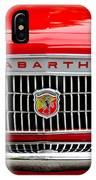 1967 Fiat Abarth 1000 Otr Grille IPhone Case