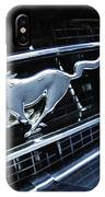 1967 Ford Mustang Gt Grille Emblem IPhone Case