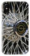 1967 Ford Thunderbird Wire Wheel IPhone Case