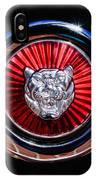 1967 Jaguar E-type Series I 4.2 Roadster Grille Emblem IPhone Case