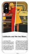 1967 Plymouth Gtx - Goldilocks And The Two Bears. IPhone Case