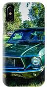 1968 Bullitt Mustang IPhone Case