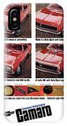 1968 Chevy Camaro IPhone Case