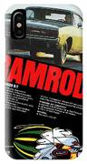 1968 Dodge Charger R/t - Ramrod IPhone Case