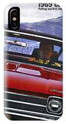1969 Chevelle Ss 396 IPhone Case