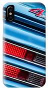 1969 Pontiac 400 Firebird Convertible Taillight Emblem -0029c IPhone Case