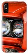 1969 Pontiac Gto The Judge IPhone Case