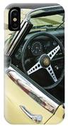 1970 Jaguar Xk Type-e Steering Wheel IPhone Case