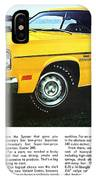 1970 Plymouth Duster 340 IPhone Case