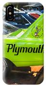 1970 Plymouth Road Runner Hemi Super Bird  IPhone Case