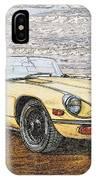 1974 Jaguar Xke Illustration IPhone Case