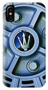 1974 Maserati Merak Wheel Emblem IPhone Case