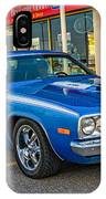 1974 Plymouth Roadrunner IPhone Case