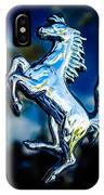 1980 Ferrari 308 Gtsi Emblem -0048c IPhone Case