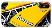 1993 Ducati 900 Superlight Motorcycle IPhone Case