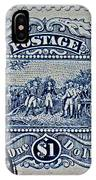 1994 Battle Of Saratoga Stamp IPhone Case