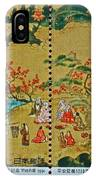 1994 Japanese Stamp Collage IPhone Case