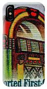 1995 Jukebox Stamp IPhone Case