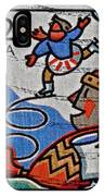 1996 Winter Skaters Stamp IPhone Case