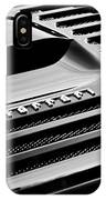 1997 Ferrari F 355 Spider Rear Emblem -153bw IPhone Case