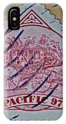 1997 Pacific Stagecoach Stamp IPhone Case