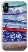1999 Hiawatha Train Stamp IPhone Case