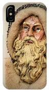 19th Century Santa Claus IPhone Case