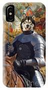 Alaskan Malamute Art Canvas Print IPhone Case
