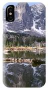 Cirque Of The Towers In Lonesome Lake 4 IPhone Case