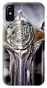 1933 Chrysler Sedan Grille Emblem IPhone Case