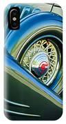 1933 Pontiac Spare Tire -0431c IPhone Case