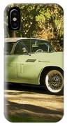 1957 Ford Thunderbird IPhone Case