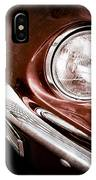 1969 Ford Mustang Mach 1 Front End IPhone Case