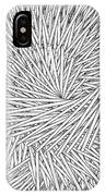 Abstract Urban City Building In Chaos IPhone Case
