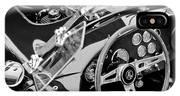 Ac Shelby Cobra Engine - Steering Wheel IPhone Case