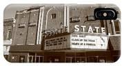 Alpena Michigan - State Theater IPhone Case